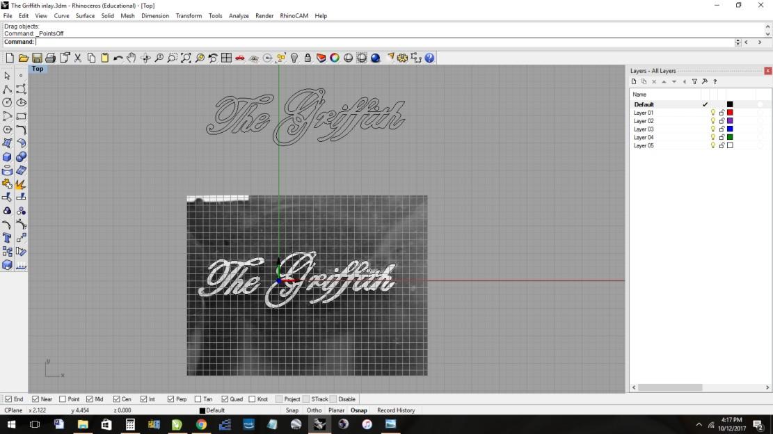 inlay tracing