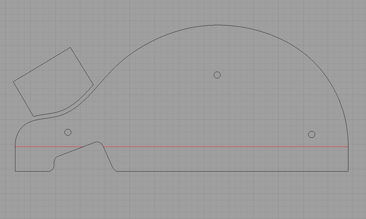 rim bending form drawing
