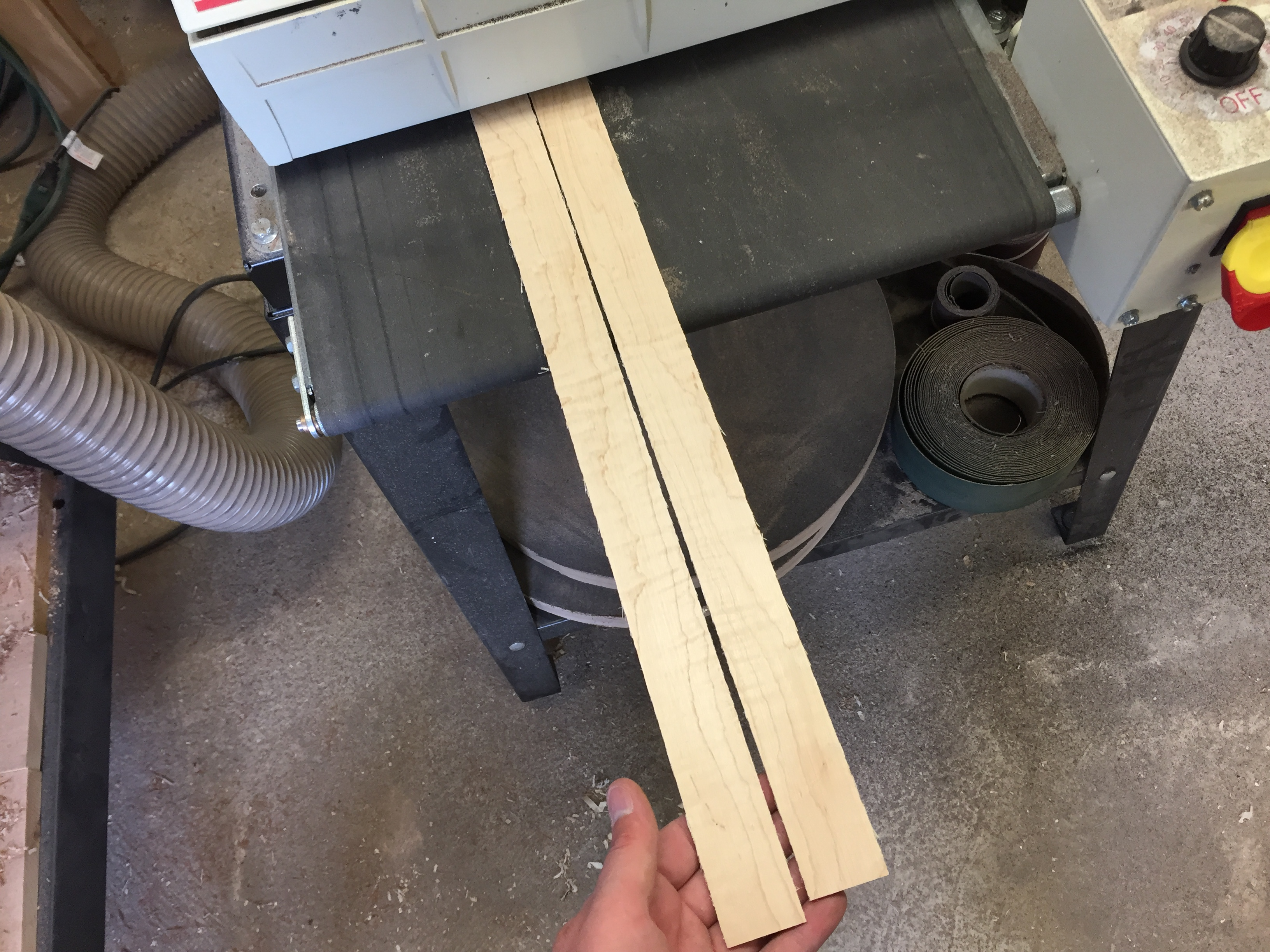 thickness sanding sides