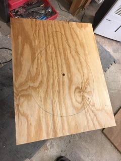 plywood backer